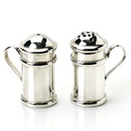 SILVER SALT & PEPPER