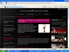 Gail voted London Jewellery Week Designer of the Week - June 2009