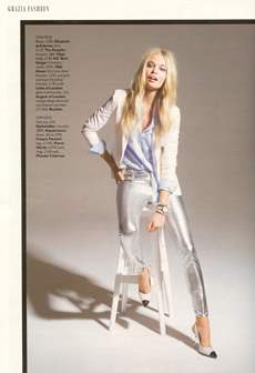 Grazia Magazine - March 2012