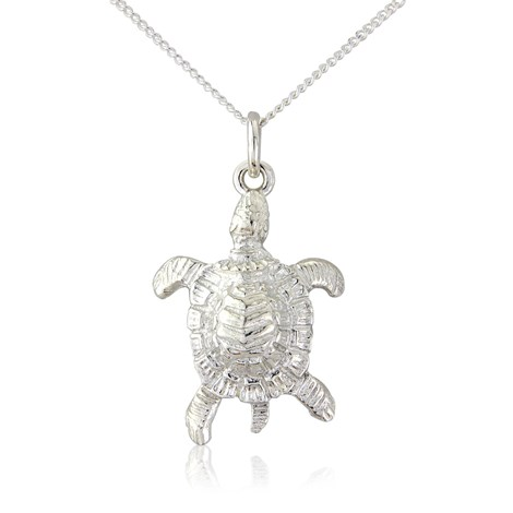 Sea turtle pendant in sterling silver click image to zoom mozeypictures Images
